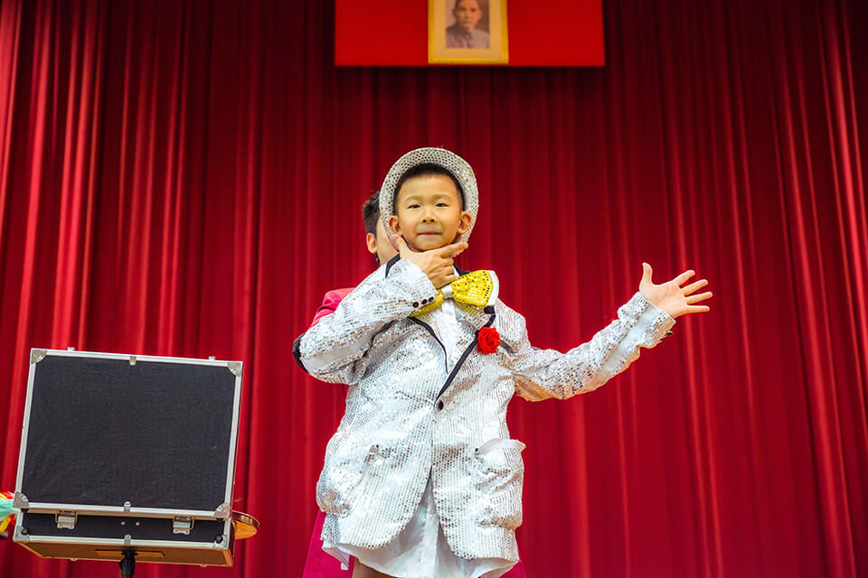 馬光國小第一位魔術師誕生