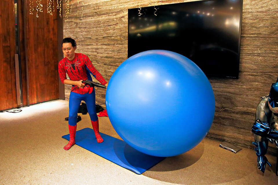 人入大氣球表演