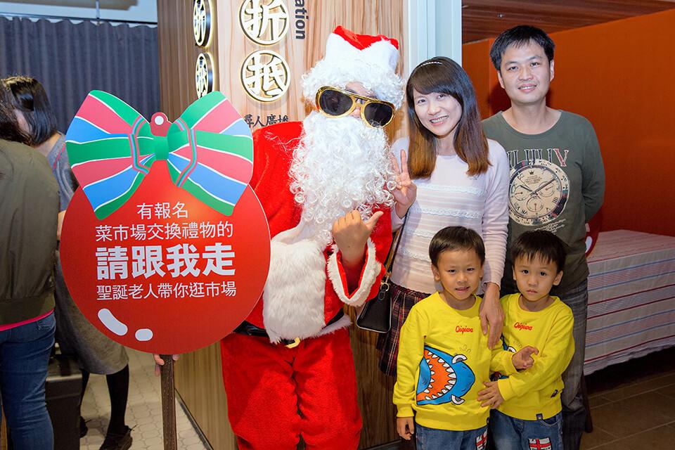 金典酒店第六市場 聖誕老人
