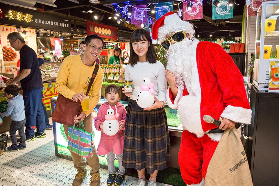 聖誕老人和你一起過聖誕!