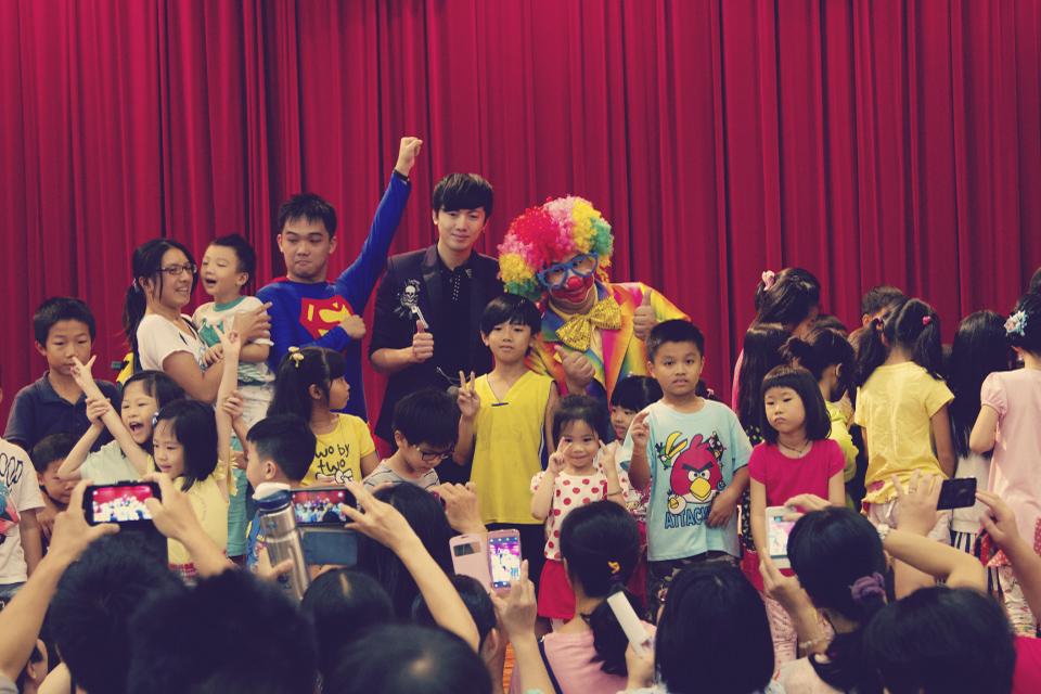 相信參加兒童歡樂派的小朋友都玩得非常開心喔!