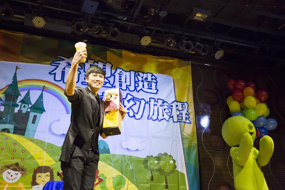 既然是知名連鎖飲料店Mr.Wish的春酒,那當然要變出最好喝的Mr.Wish飲品啦!