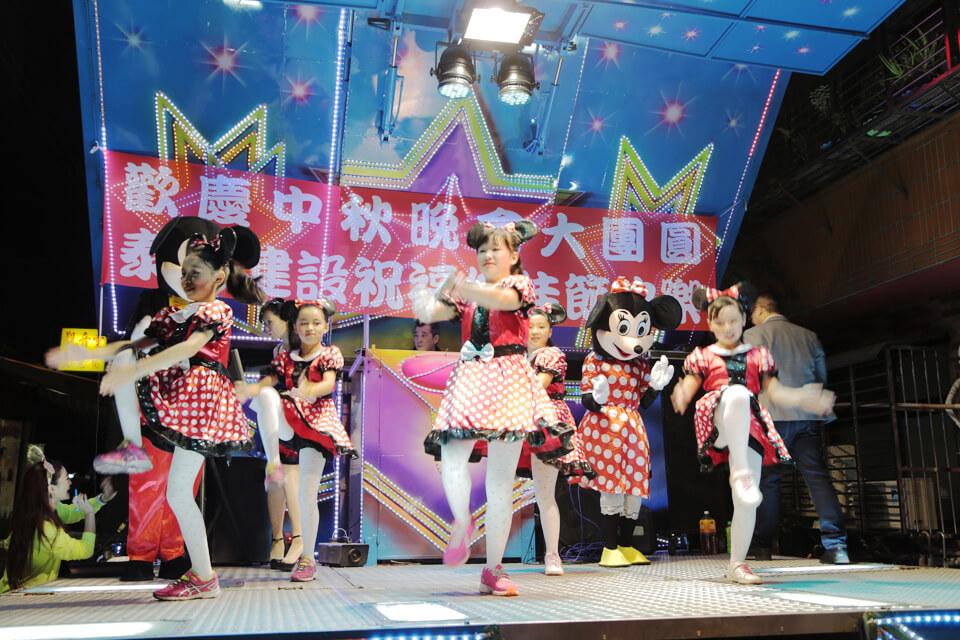 活動的最後,由我們一群可愛的小米妮來為各位獻上一段舞蹈!真是萌翻大家啦~!!