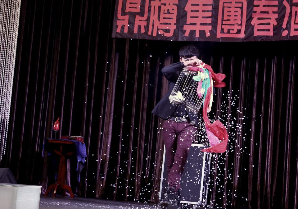 這次米爾可娛樂企劃團隊來到台中的星時代風華會館