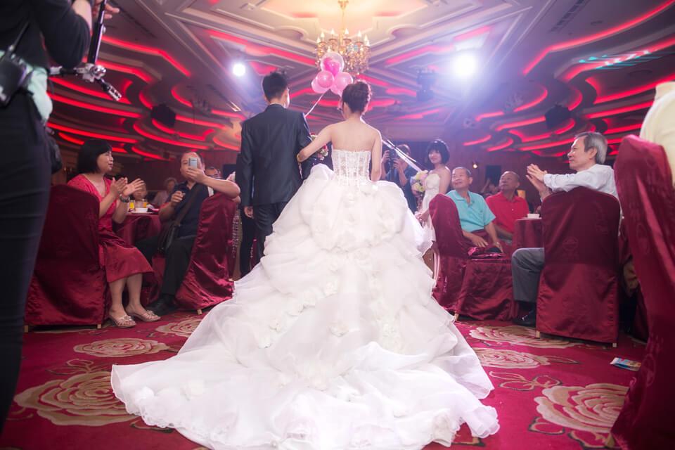 米爾可團隊總是為新人們準備最好的!就連婚禮攝影是也是如此,專業婚攝團隊用心為新人記錄幸福的每一刻
