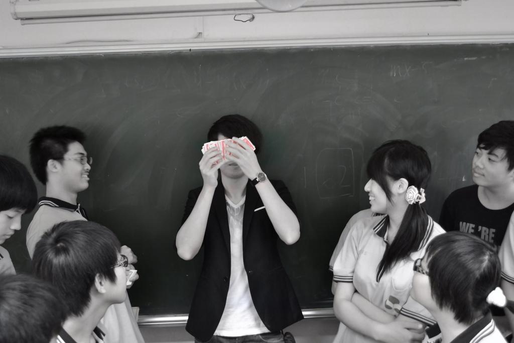 高中社團魔術教學