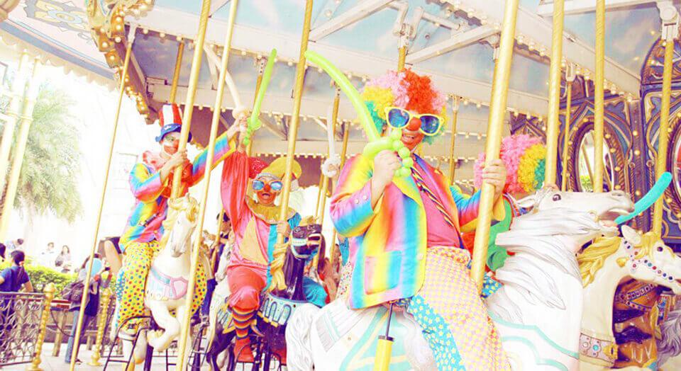 氣球小丑表演