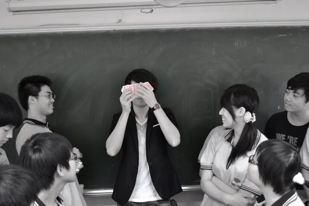忠明高中社團魔術教學記錄