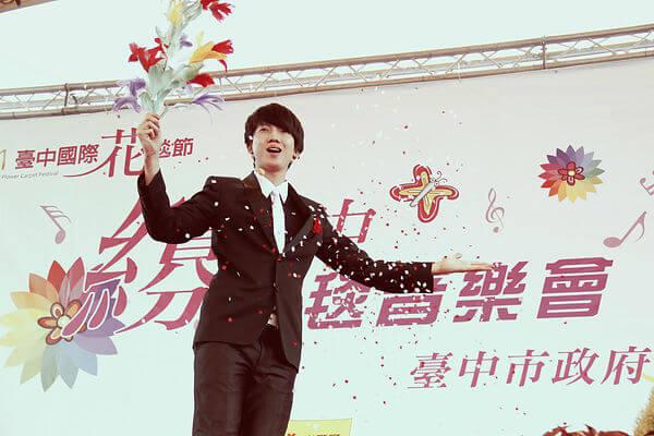 台中國際花毯節魔術表演