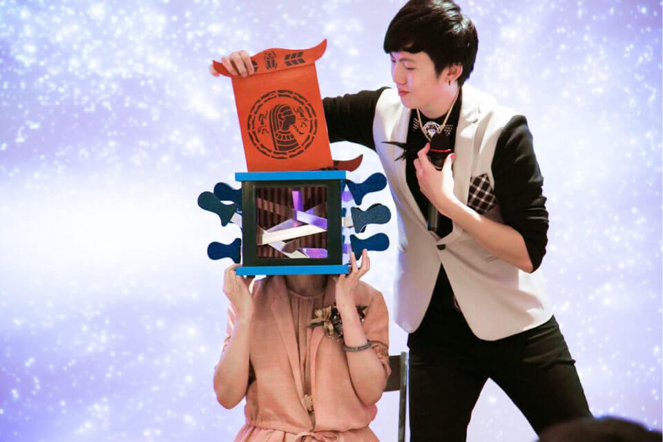 台北市仁愛國中謝師宴魔術表演