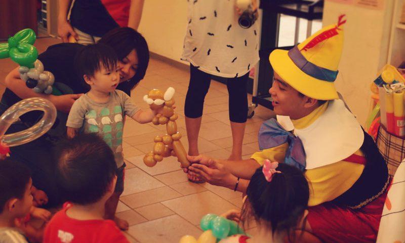 兒童生日派對魔術表演