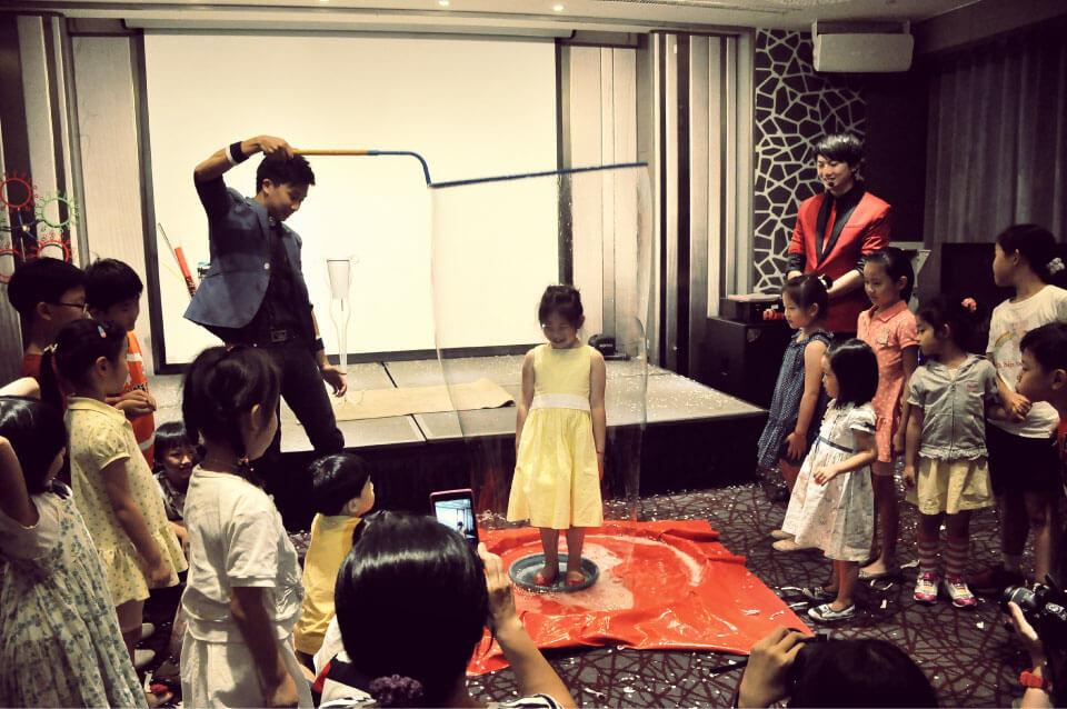 弘光附幼畢業派對魔術表演