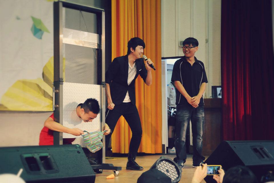 台中科技大學新生訓練魔術表演