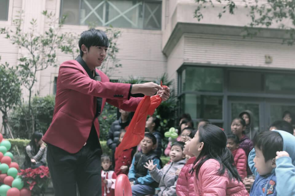 寶佳麗社區聖誕魔術表演