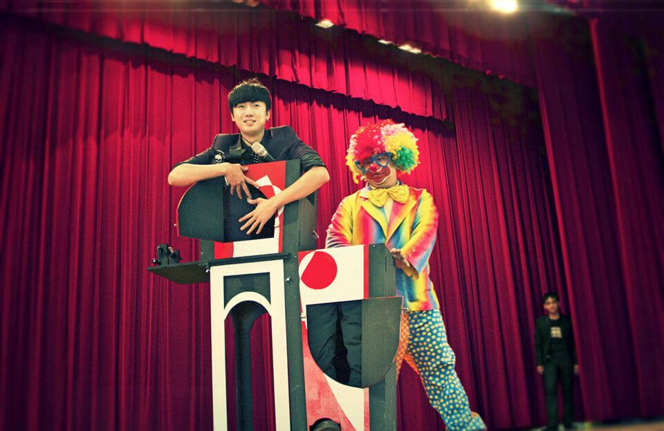 台中市政府兒童歡樂派活動魔術表演