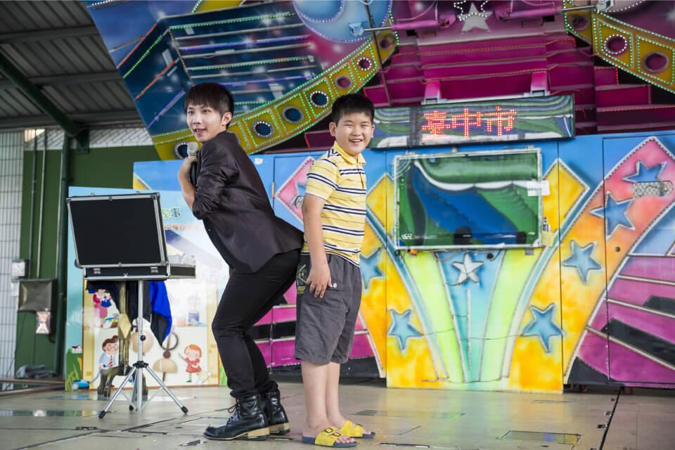 台中市婦女權益宣導活動魔術表演
