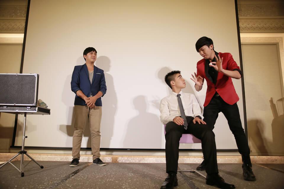 普林斯頓小學謝師宴魔術表演