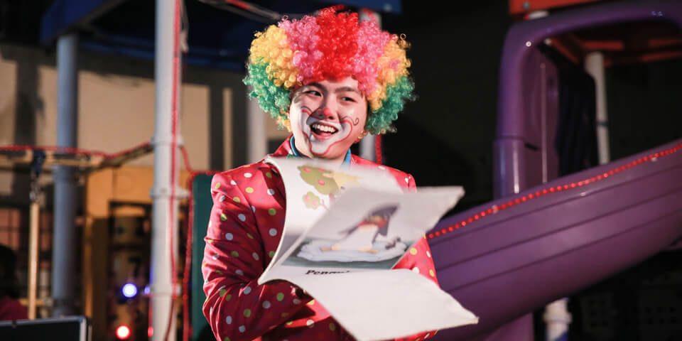 艾洛特幼兒園默劇小丑表演