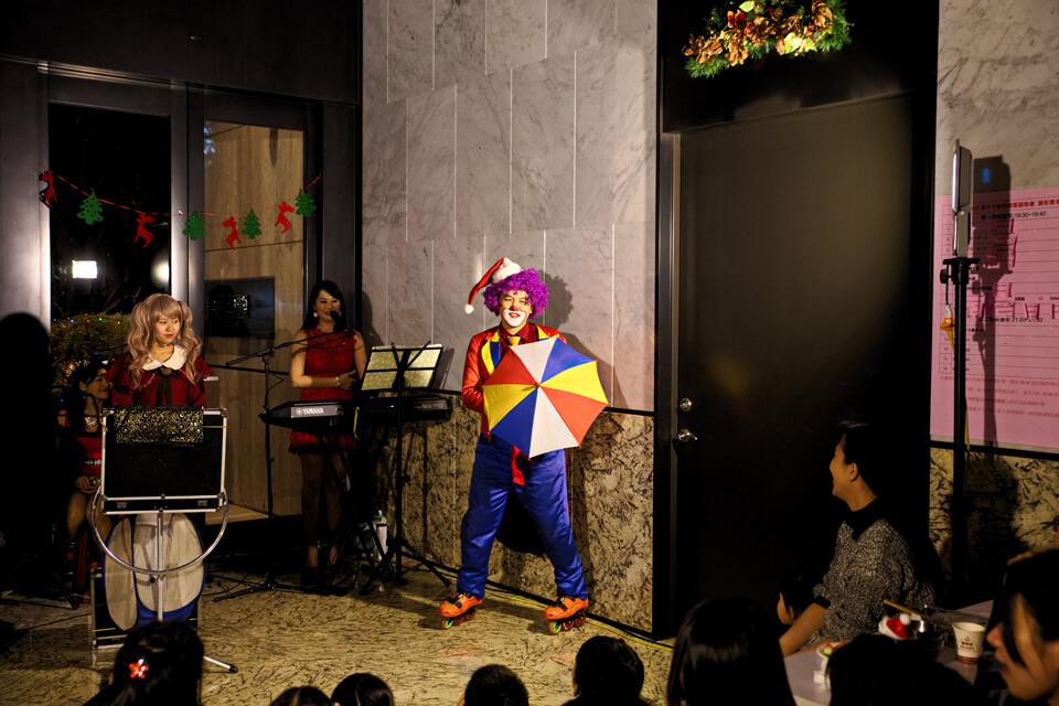 惠宇可觀社區-聖誕晚會小丑魔術
