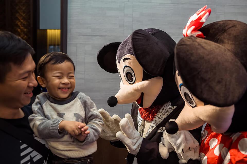 馬光中醫尾牙活動人偶、魔術表演、氣球小丑