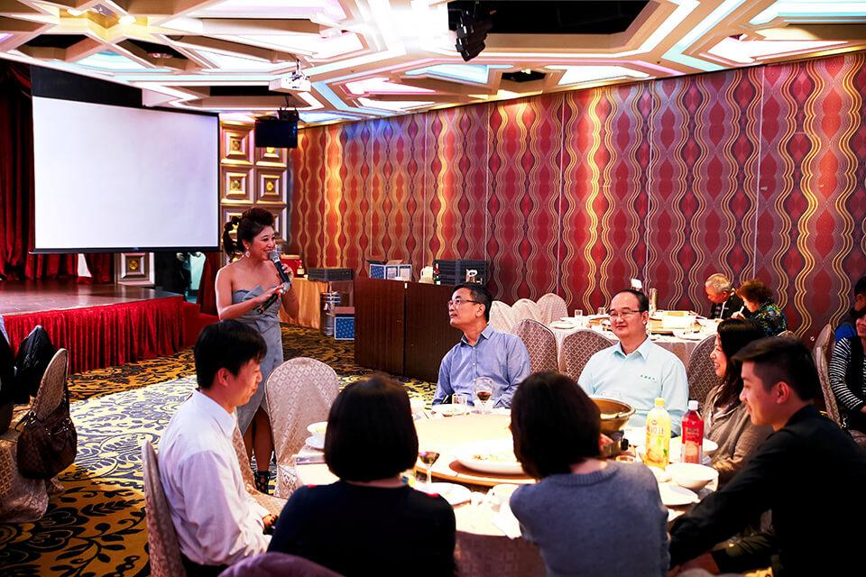 太陽光電發電系統商業同業公會餐會-活動主持