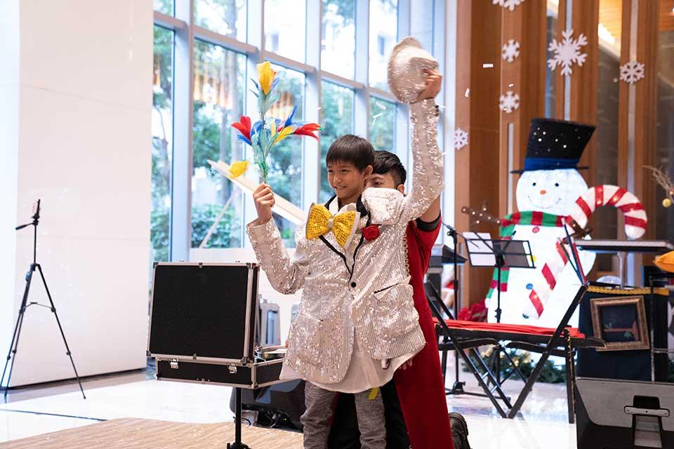 養心殿社區中秋活動:魔術表演、氣球小丑、雙人樂團